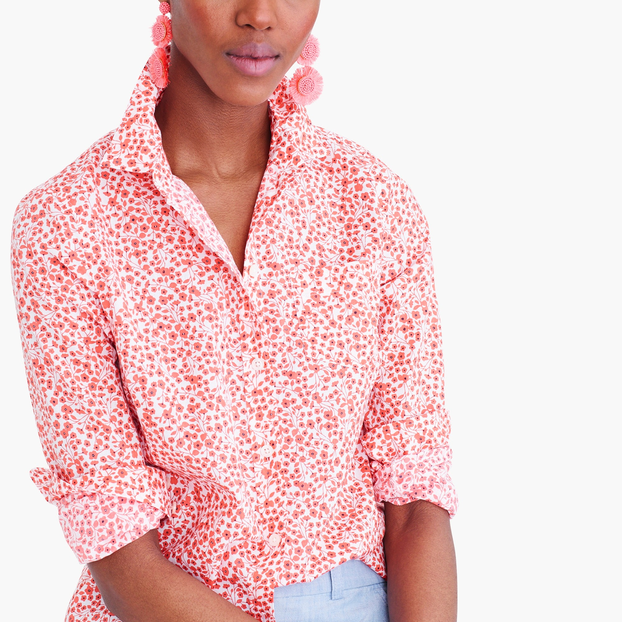 factory womens Button-up shirt