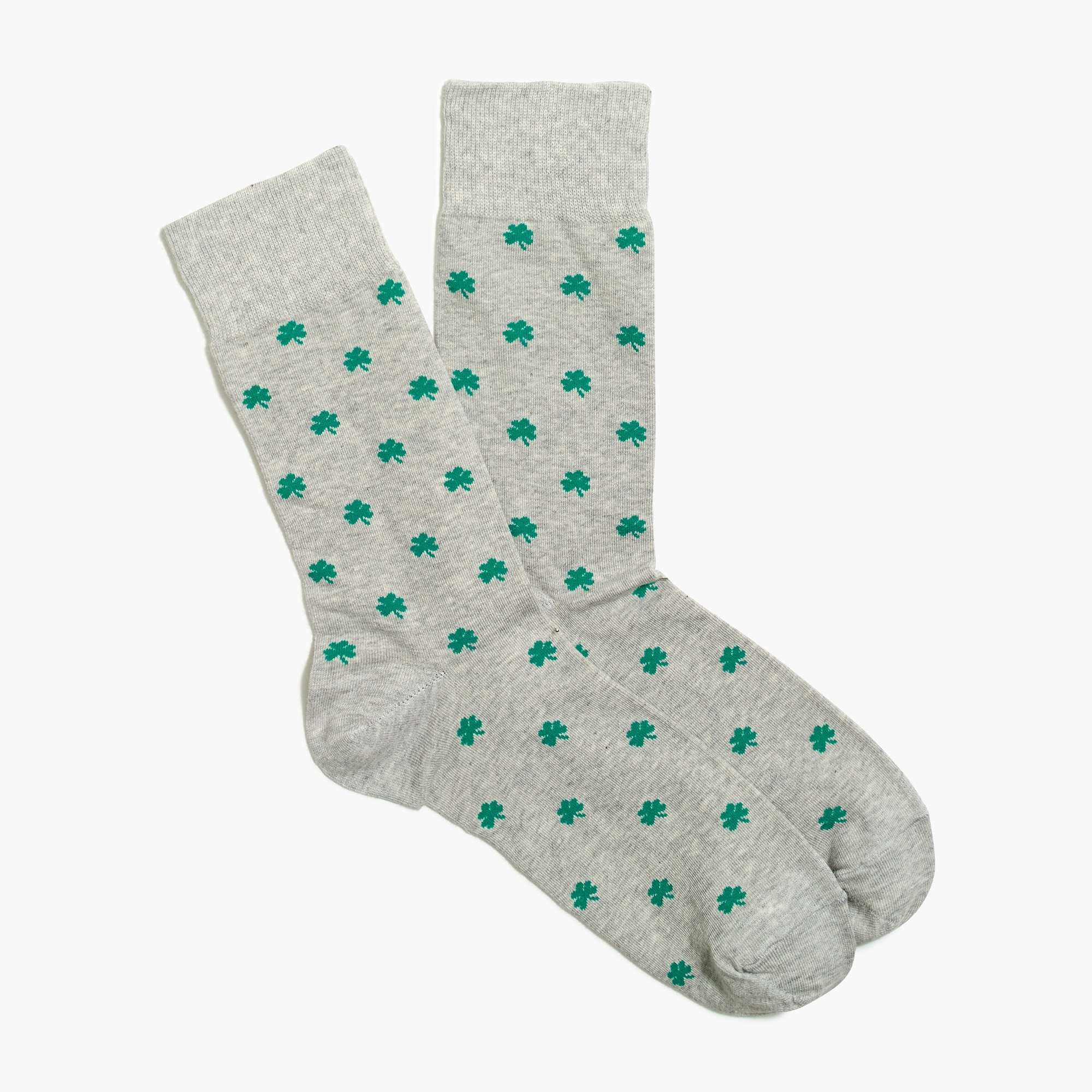 factory mens Shamrock socks