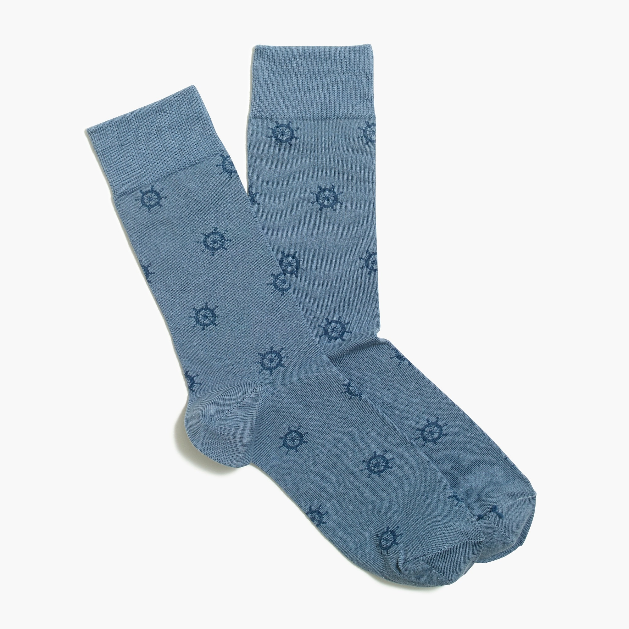 factory mens Ship's wheel socks