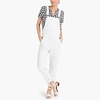 Image 1 for White denim overall