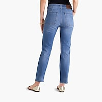 "Image 4 for 10"" highest-rise utility jean in medium wash"
