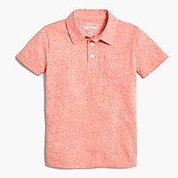 Boys' polo shirt in the supersoft jersey