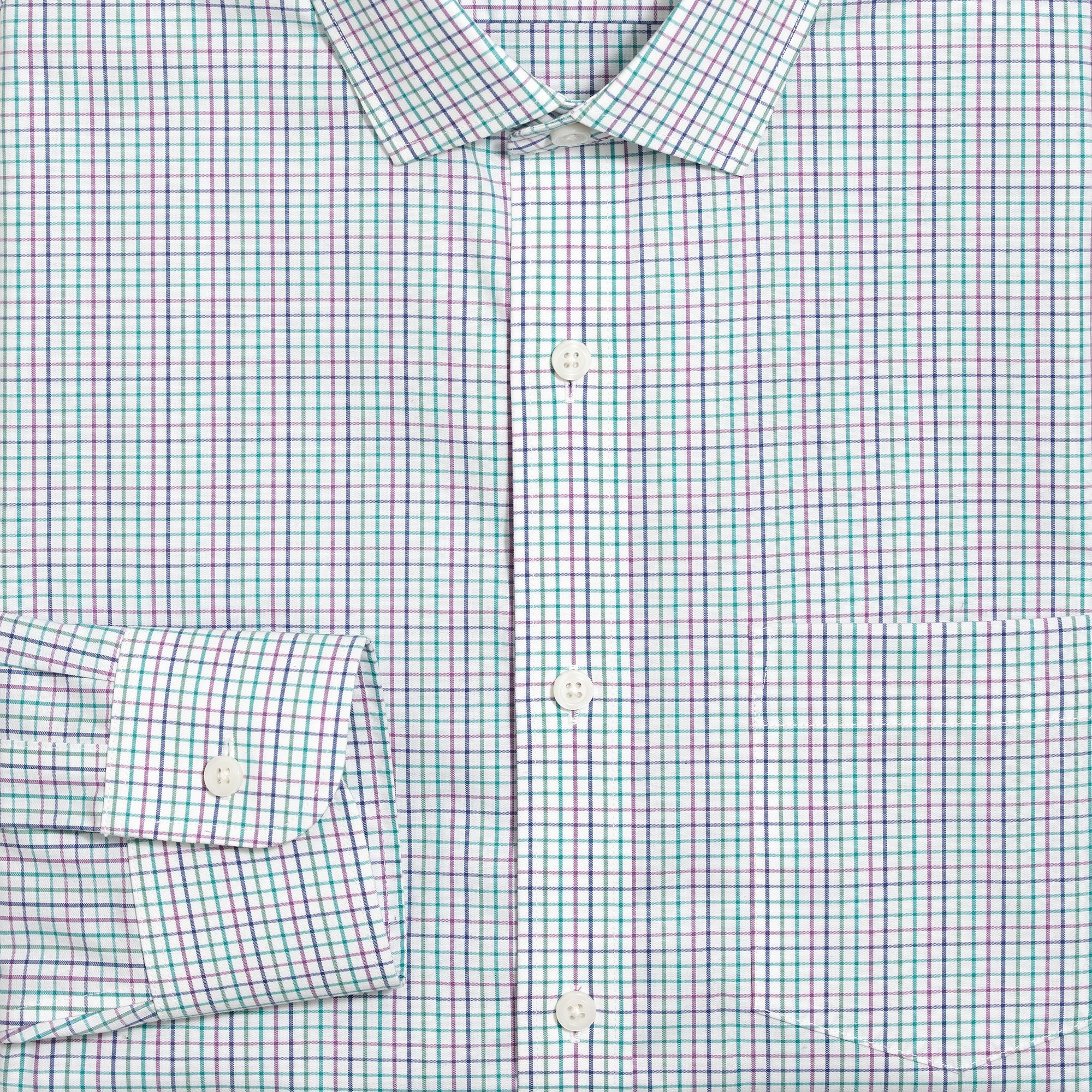 Image 4 for Slim Thompson flex wrinkle-free dress shirt