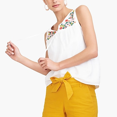 86423ce2318b7d Shop women's shirts at J.Crew Factory and find everyday deals on ...
