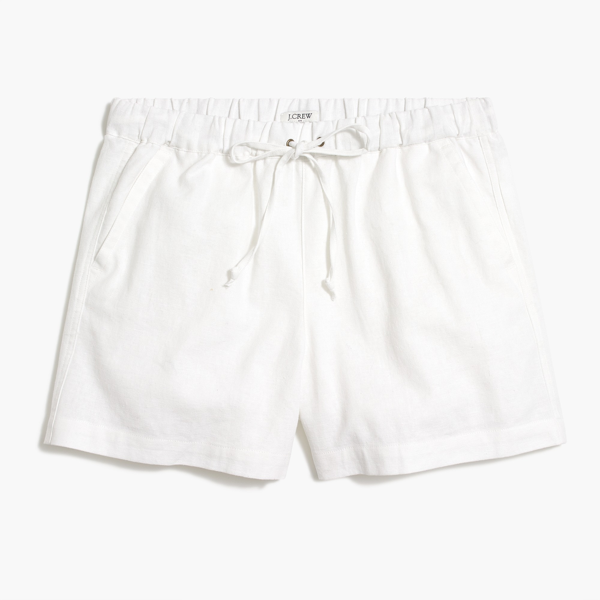 "factory womens 5"" drawstring short"