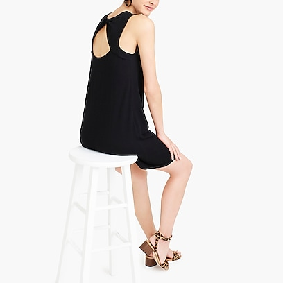 factory womens Twist-back dress