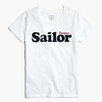 Sailor graphic T-shirt